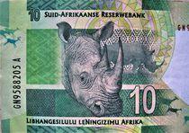 10 ZAR, Südafrika Rand-Geldschein von assy