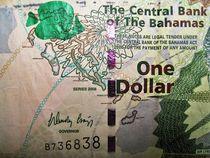 Bahamas Dollar / Teilansicht von assy