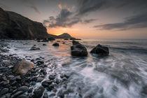Sonnenaufgang am Ostkap auf Madeira von Florian Westermann