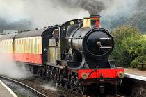 Steaming into Weybourne von Bill Pound