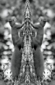 Retro Eichhörnchen Zwillinge von kattobello