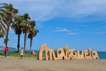 Malagueta beach  by Azzurra Di Pietro