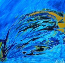 Blau gelbe Sphären by art-dellas