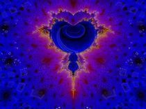 Blue Pulse von Petra Dreiling-Schewe