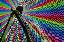 Ferris Wheel Abstract by Jim Corwin