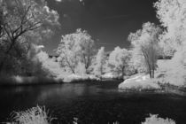 Infrared River by dagino