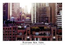 Afternoon on a Rooftop Terasse von Lise Ringkvist