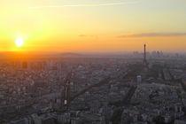 Paris im Sonnenuntergang by Patrick Lohmüller