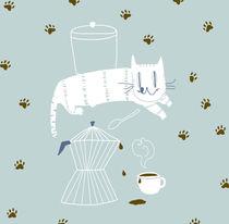 Cat for breakfast! von Daniela  Spoto
