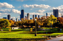 Chicago Skyline by Lev Kaytsner