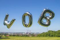 WOB-Ballons auf dem Klieversberg Wolfsburg by Jens L. Heinrich