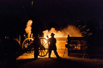 Night Cannon Firing at Wilson's Creek NB von Steven Ross