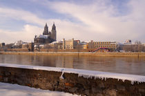 dom in MAgdeburg im Winter by magdeburgerin