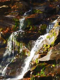 Peaceful waterfall by lanjee chee