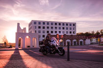 Sundown Biker von Franziska Giga Maria