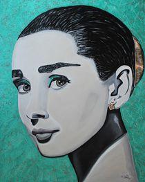 Audrey Hepburn by Erich Handlos