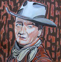 John Wayne by Erich Handlos