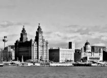 Water front Liverpool (Digital Art) von John Wain
