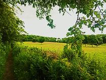 Parbold Hill (Digital Art) by John Wain
