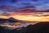 Sonnenuntergang am El Teide by Philip Kessler