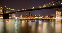 Brooklyn Bridge by night by Jean-Marc Papi