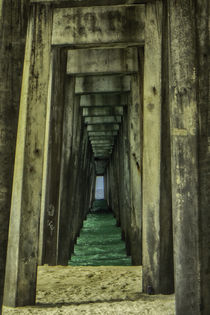 Under the Pier by Judy Hall-Folde