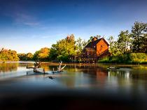Water mill in Jelka by Zoltan Duray