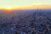 Paris im Sonnenuntergang von Patrick Lohmüller
