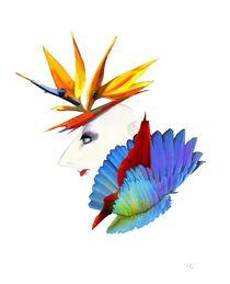 Strelitzie oder der Paradiesvogel von Kiki de Kock