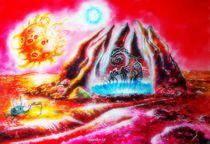 Auf dem Planeten eines Doppelsterns. von Victor Filippsky