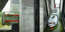 Schiffshebewerk Scharnebeck - Collage by Hartmut Binder