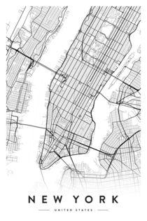 NEW YORK CITY MAP von nordik
