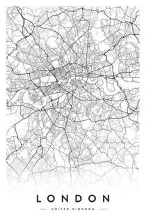 LONDON CITY MAP von nordik