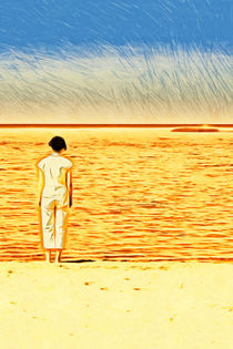 Die Frau am Meer von mario-s