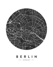BERLIN CITY MAP von nordik
