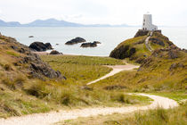 Pathway to old lighthouse, Llanddwyn, Anglesey, Gwynedd, Wales, United Kingdom by Kevin Hellon