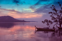 Dawn in Phang Nga Bay from Phuket, Thailand by Kevin Hellon