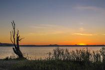 Sonnenuntergang über dem Hegau by Christine Horn