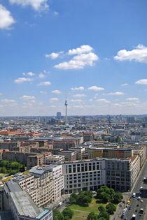Blick über Berlin von Daniela  Bergmann