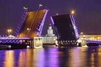 Schlossbrücke St. Petersburg by Patrick Lohmüller