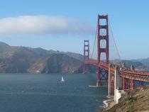 Golden Gate Bridge by littleseaart
