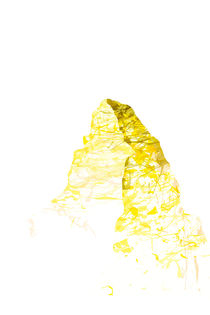 mountainsplash Matterhorn yellow by Bastian Herbstrith