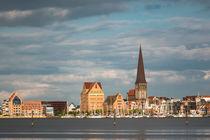 Blick über die Warnow auf Rostock by Rico Ködder
