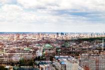 Berliner Dom und Potsdamer Platz aus der Luft von Ronny Wunderlich