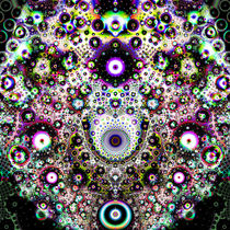 Fraktale Fantasie von Petra Dreiling-Schewe