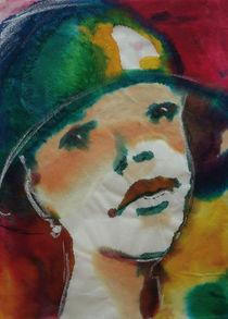 Frau mit Hut von Sonja Jannichsen