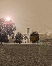 St. Koloman near Castle Neuschwanstein von Michael Naegele
