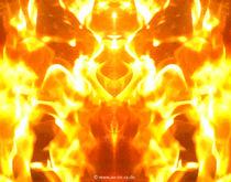 Feuerwesen_02 von Claudia Dobslaw