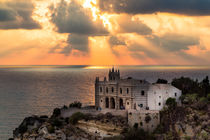 Sunset at Tropea by Jörg Sobottka