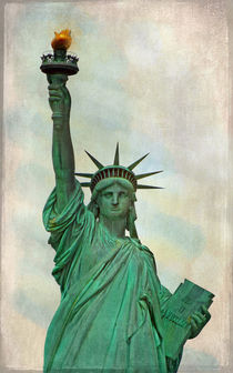 'The Statue Of Liberty' von Elena Oglezneva